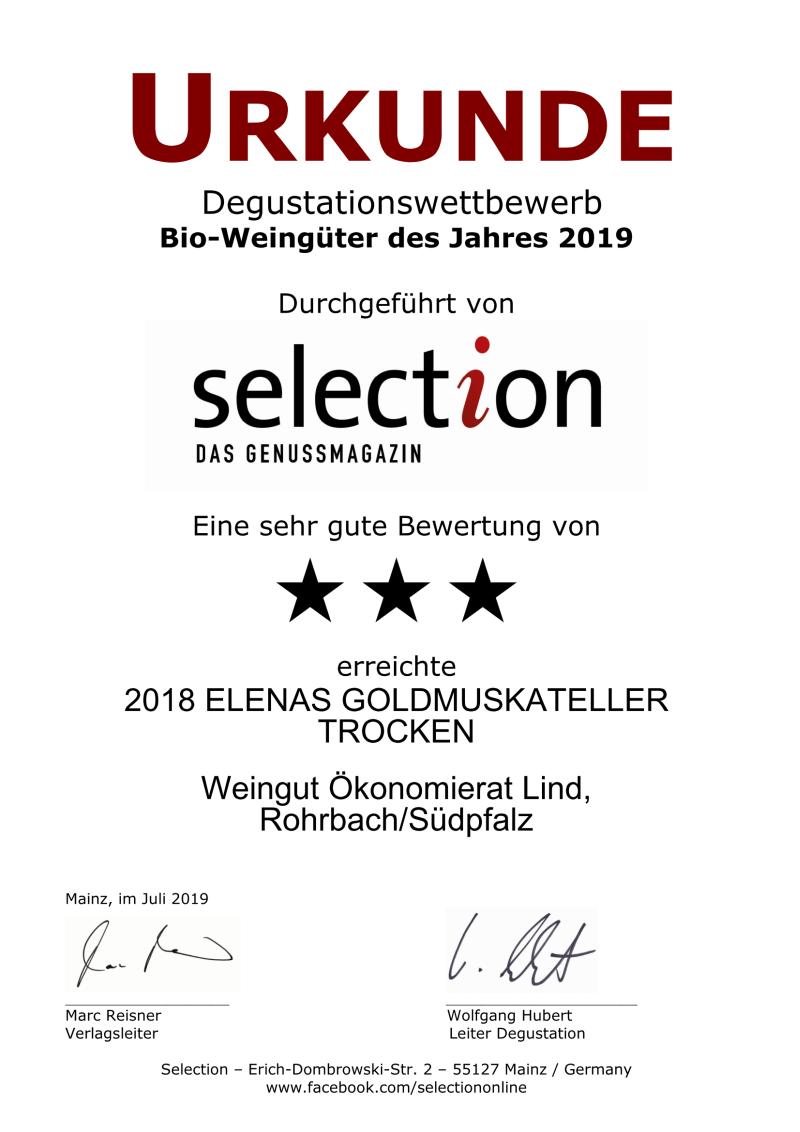 Nr. 01 - ELENAS GOLDMUSKATELLER TROCKEN - 3 Sterne_Page_1