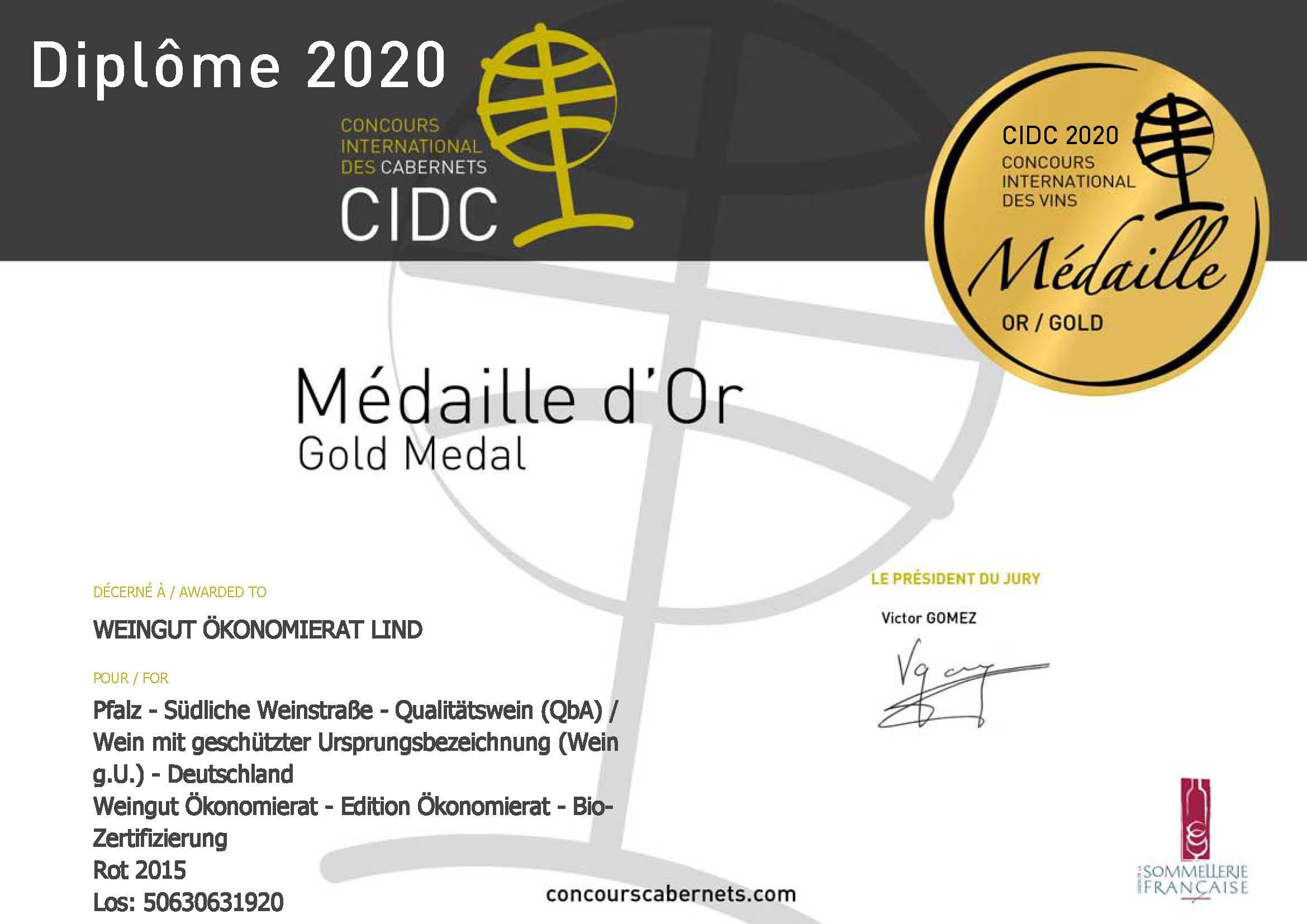 Gold Medal International Cabernet-Award in Paris 2020_Seite_1